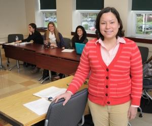 Karin Lin-Greenberg in classroom
