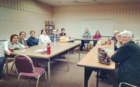 Morris Public Library Book Club event