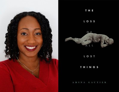 Amina Gautier with Loss cover