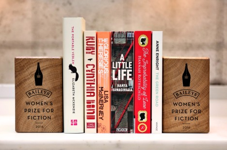 11th April 2016: The Baileys Women's Prize for Fiction announces its 2016 shortlist, comprised of 6 books that celebrate the best of fiction written by women
